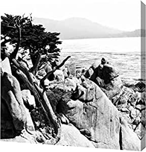 "PrintArt GW-POD-11-PSHSF-795-20x20""Ocean Cliff Square II"" 由 Alan Hausenflock 画廊装裱艺术微喷油画艺术印刷品 12"" x 12"" GW-POD-11-PSHSF-795-12x12"