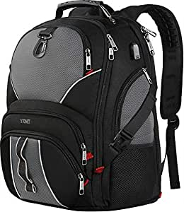 TSA Friendly 笔记本电脑背包 Black & Gray 17 inch / 16 inch /15.6inch / 14inch / 13 inch