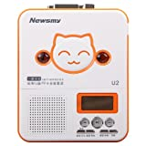 Newsmy 纽曼 U2 招财猫 插卡复读机 磁带/U盘/TF卡相互转录 MP3播放 多功能学习机