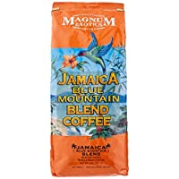 Magnum 牙买加蓝山咖啡混合 - 2磅(约5.7千克)整豆(4包)