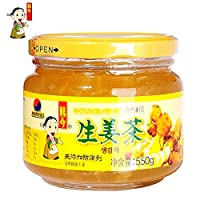 韩今(韩国) 蜂蜜生姜茶550g(韩国进口)(亚马逊自营商品, 由供应商配送)