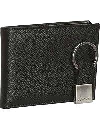 Calvin Klein 卡尔文·克莱恩 BIFORD黑色牛皮钱包 79080 (美国品牌 香港直邮)(包邮包税)