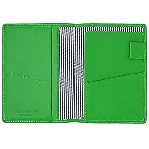 Slip On 护照保护套 Noir 皮革 閉じたとき:約 縦140 x 横104 x 厚み10mm  開いたとき:約 縦140 x 横208 x 厚み4mm ※突起部分は含みません。 中*
