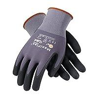 3 件装 34-874 MaxiFlex 终极丁腈抓握工作手套可选尺码为 S 到 XL S