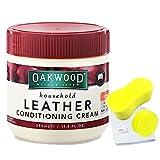 OAKWOOD澳大利亚进口 皮革护理剂 皮革护理膏 皮沙发/皮包/皮衣保养油 (350ml)