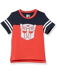 Hasbro 孩之宝 男童 针织短袖T恤 KFA8M1KTBB1008RR