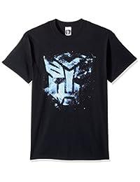 变形金刚男式 AUTOBOTS 浮动空间徽标 T 恤