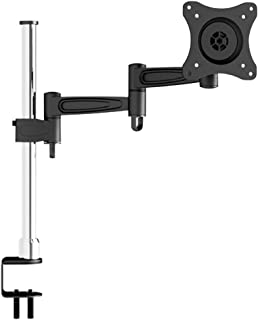 OSD Audio TSM-T13 Home and Office Single Arm Extended Desk Mount for 17-inch to 37-inch Monitor