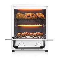 Nathome 北欧欧慕 立式家用厨房多功能迷你电烤箱 NKX1417C(亚马逊自营商品, 由供应商配送)
