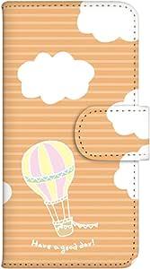 智能手机壳 手册式 对应全部机型 印刷手册 cw-057top 套 手册 气球 UV印刷 壳WN-PR334881-M Xperia Z3 Compact SO-02G 图案F