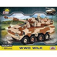 COBI COB02617 Small Army - WWO Wilk(500 件)磚制模型套件,多色