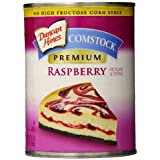 Comstock Premium Pie Filling & Topping, Raspberry, 21 Ounce (Pack of 8)