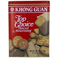 Khong Guan Top Choice曲奇, 42盎司(1.2kg)
