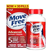 Schiff move free旭福维骨力氨糖软骨素片红瓶基础版  200粒 包税包邮