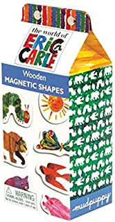 Mudpuppy Eric Carle The Very Hungry Caterpillar and Friends 磁性角色套装 Wooden Magnetic Shapes