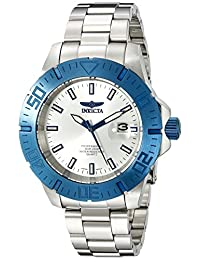 Invicta Men's 手镯INVICTA-14051 analogue Stainless Steel silver INVICTA-14051 watches