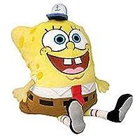 抱枕,Pee Wees,Nickelodeon 海绵宝宝方形,海绵宝宝,11 英寸