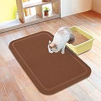 Petio necoco 猫厕所垫 宽 棕色