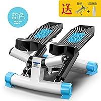 康复摇摆懒人拉绳健身器踏步机脚踏机小空间塑身越步塑形机器紧臀3D蓝色豪华款免安装拉绳防滑