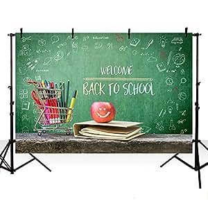 MEHOFOTO 照片工作室展览背景回到学校主题派对装饰背景摄影 Back to School2