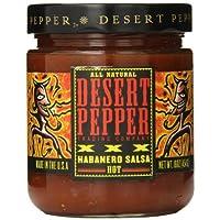 Desert Pepper - 所有自然热的辣调味汁XXX Habanero - 16盎司
