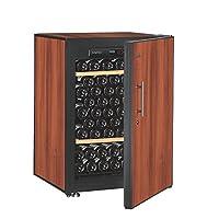 法国ArteVino阿迪维诺葡萄酒柜OXPIT98NPD(2个固定层架+烟草色实门)