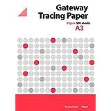 Gateway A3 63 g/m2 500 对开式 天然 透明纸