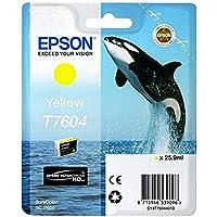 Epson爱普生 T76014010 照片墨盒,26 毫升,黑色 yellow 黄色