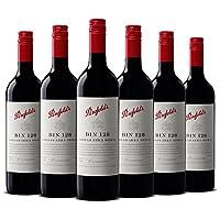 【亚马逊直采】Penfolds 奔富酒窖128设拉子干红葡萄酒750ml *6(亚马逊进口直采红酒,澳大利亚品牌)自营精选