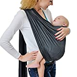 cuby 透气婴儿背带网眼面料适用于萨默斯 / beachhe 可调节戒指背带婴儿背带 . ergo 环保 Grey1