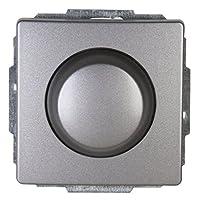 Kopp Venice 调光器带摇杆双投掷开关 RL400VA,1 件铂金饰面 803143087