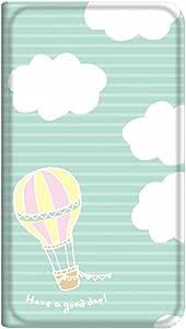 智能手机壳 手册式 对应全部机型 薄型印刷手册 cw-057top 套 手册 气球 超薄 轻量 UV印刷 壳WN-PR329020-M Xperia Z1 f SO-02F B款