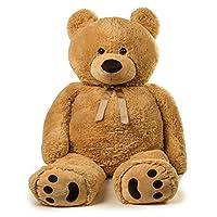 Jumbo 泰迪熊 5 英尺高 - 棕褐色