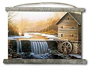 "WGI-GALLERY The Old Mill 帆布墙挂轴 0.75"" x 18"" x 25"" WC-TOM-2518"