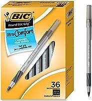 BIC GSMG361BK 超舒适顺滑圆珠笔 1.2毫米 黑色 36支装