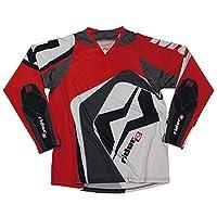 Mots mt2107sr try Rider 2 T 恤,红色,S 码