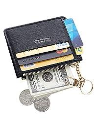Cyanb 修身皮革卡包前口袋钱包女士钱包钱包