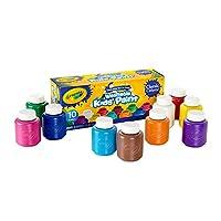 Crayola 绘儿乐 10色幼儿可水洗颜料 54-1205(包装随机)