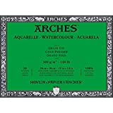 ARCHES 300 gsm 冷压水彩块 26 x 36 cm 多种颜色