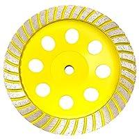 Stadea CWD105H 17.78 cm 钻石杯轮 - 涡轮 - 系列标准 C - 1.59 cm 11 T - 黄色