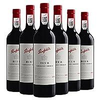 Penfolds 奔富 Bin 8 赤霞珠设拉子干红葡萄酒750ml*6(亚马逊进口直采,澳大利亚品牌)
