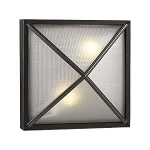 PLC Lighting 31700 BZ Outdoor Fixture, Danza-1 Collection, Bronze finish