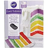 Wilton 惠尔通 2105-0112 Easy Layers! 5个菜碟套装,6英寸