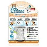 SinkShroom 镍版革命性浴室水槽排水保护接发器,过滤器,零食 Sinkshroom Chrome Edition SSCE425