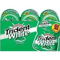 Trident White Sugar Free Gum (Spearmint, 60-Piece, 6-Pack)
