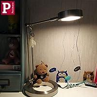 Paulmann 德国柏曼 学生阅读护眼台灯儿童大学生小学生书桌保视力学习夜读灯(流光银)
