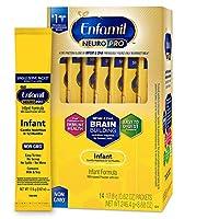 Enfamil 美赞臣 NeuroPro 1段 0-12个月 婴儿配方奶粉 独立包装 每袋17.6g 14袋装