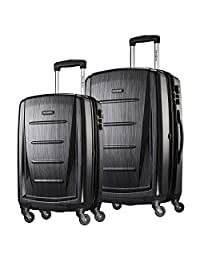 "Samsonite Checked-Medium 7.9"" 对开式 黑色"