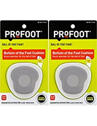 ProFoot Bottom of the Foot Cushion, 2 Pairs