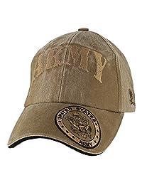 Eagle Crest 美国* 带盖帽檐 棒球帽,水洗海龟棕色